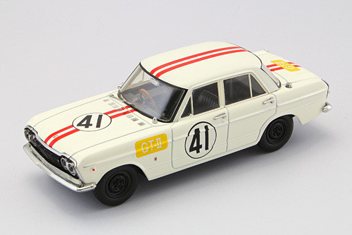 Ebbro 44580 IKUZAWA Prince Skyline GTB Racing Japan GP 1964 #41 1/43 Scale