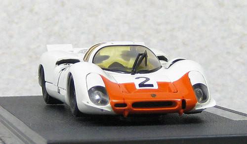 Ebbro 44599 IKUZAWA Porsche 908ST 1968 Watkins Glen #2 1/43 Scale