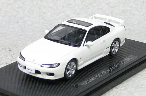 Ebbro 44613 Nissan Silvia Spec-R S15 1999 (White) 1/43 Scale