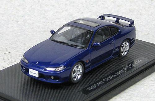 Ebbro 44614 Nissan Silvia Spec-R S15 1999 (Blue) 1/43 Scale