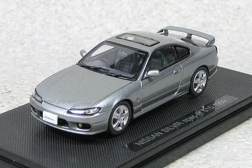 Ebbro 44615 Nissan Silvia Spec-R S15 1999 (Silver) 1/43 Scale