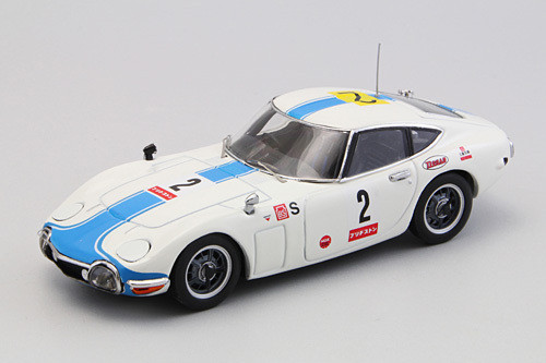 Ebbro 44628 Toyota 2000GT 1967 Japan Fuji 24H Race #2 1/43 Scale