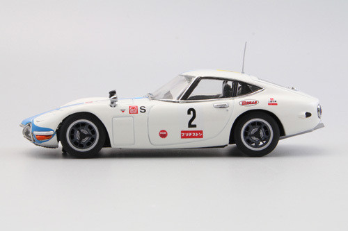 Ebbro 44628 Toyota 2000GT 1967 Japan Fuji 24H Race #2 1/43 Scale