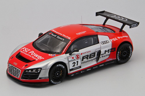 Ebbro 44630 HITOTSUYAMA RACING Audi R8 LMS 2011 (Resin Model) 1/43 Scale