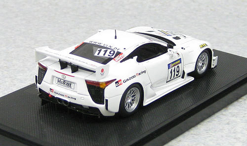 Ebbro 44631 LEXUS LFA Nurbrugring VLN 4H 2011 No.119 (Resin Model) 1/43 Scale