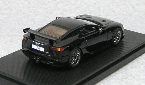 Ebbro 44639 LEXUS LFA Nurburgring Package Black (Resin Model) 1/43 Scale