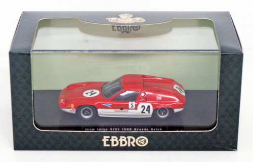 Ebbro 44643 Team Lotus Type 47GT 1968 Brands Hatch (Resin Model) 1/43 Scale
