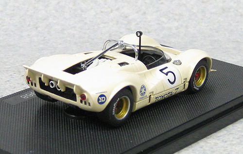 Ebbro 44704 Toyota 7 1968 Japan GP No.5 Otsubo (Ivory) 1/43 Scale