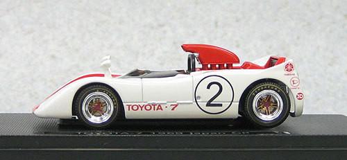 Ebbro 44718 Toyota 7 Japan Grand Prix 1969 No.2 (Red) 1/43 Scale