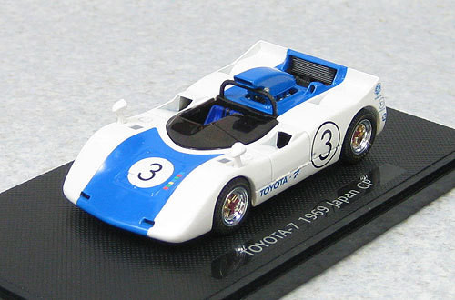 Ebbro 44719 Toyota 7 Japan Grand Prix 1969 No.3 (Blue) 1/43 Scale