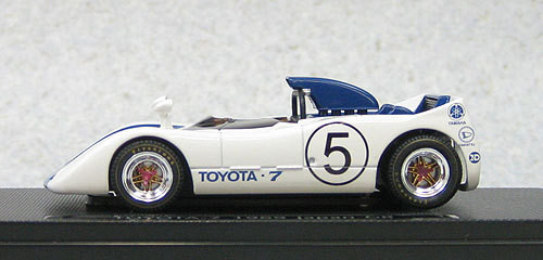 Ebbro 44720 Toyota 7 Japan Grand Prix 1969 No.5 (Blue) 1/43 Scale