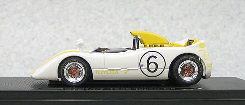 Ebbro 44721 Toyota 7 Japan Grand Prix 1969 No.6 (Yellow) 1/43 Scale