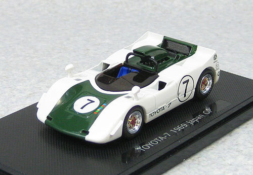Ebbro 44722 Toyota 7 Japan Grand Prix 1969 No.7 (Green) 1/43 Scale