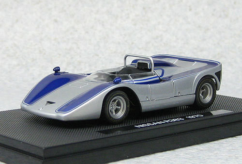 Ebbro 44726 Nissan R383 Japan Grand Prix 1970 Prototype (Silver) 1/43 Scale