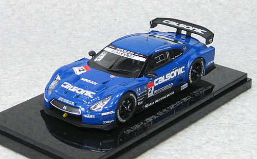 Ebbro 44732 Calsonic Impul GT-R Super GT500 2012 No.12 (Blue) 1/43 Scale