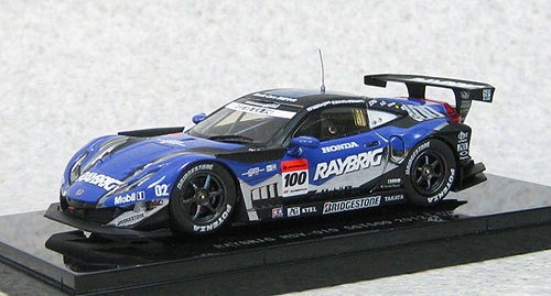 Ebbro 44742 Raybrig HSV-010 Super GT500 2012 #100 (Blue) 1/43 Scale