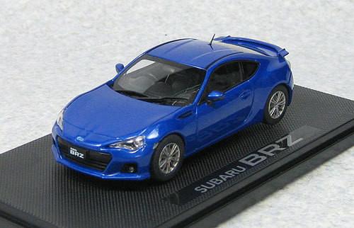 Ebbro 44778 Subaru BRZ (WR Blue) 1/43 Scale