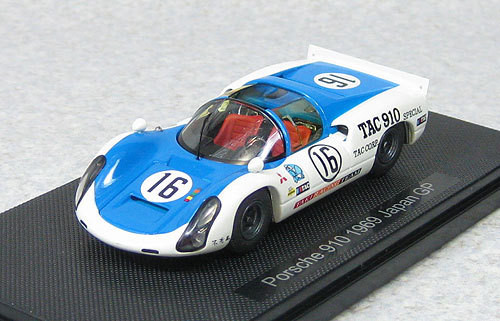 Ebbro 44792 Porsche 910 Japan GP 1969 #16 1/43 Scale