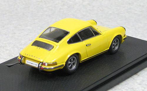 Ebbro 44793 Porsche 911S 1969 Yellow 1/43 Scale