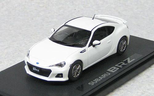 Ebbro 44802 Subaru BRZ (White) 1/43 Scale