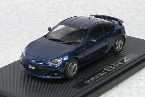 Ebbro 44805 Subaru BRZ (Galaxy Blue) 1/43 Scale