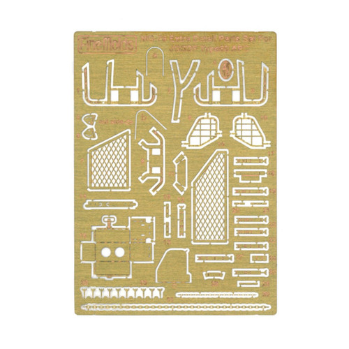 Fine Molds MG-76 Extra Detail Set for JGSDF Type 60 APC 1/35 Scale Photo-Etched Parts