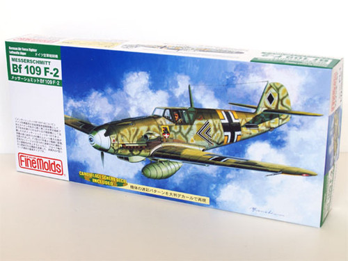 Fine Molds FL1 German Messerschmitt Bf 109 F-2 1/72 Scale Kit