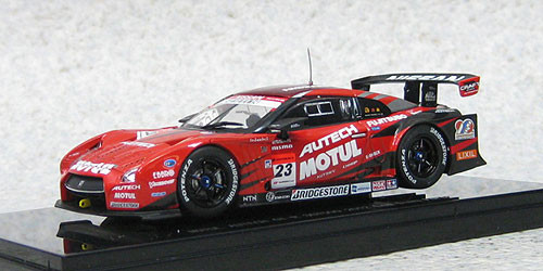 Ebbro 44850 Nissan GT-R MOTUL AUTECH Low Down Force SUPER GT500 2012 1/43 Scale