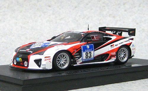 Ebbro 44890 Lexus LFA Nurburgring 24hr Race 2012 #83 (Resin Model) 1/43 Scale