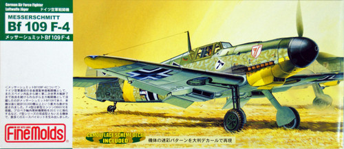 Fine Molds FL2 German Messerschmitt Bf 109 F-4 1/72 Scale Kit