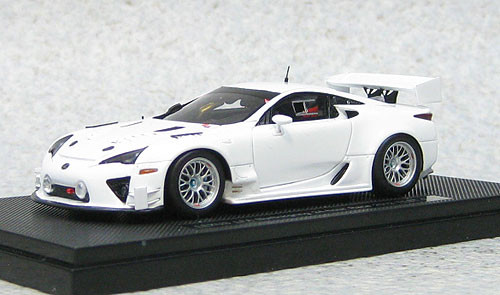 Ebbro 44891 Lexus LFA Nurburgring 24hr Race 2012 Test Car (Resin Model) 1/43 Scale