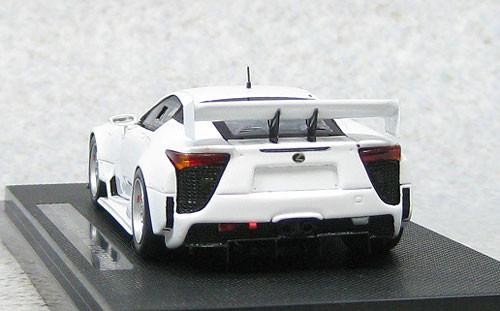 Ebbro 44891 Lexus LFA Nurburgring 24hr Race 2012 Test Car (Resin Model) 1/43 Scale
