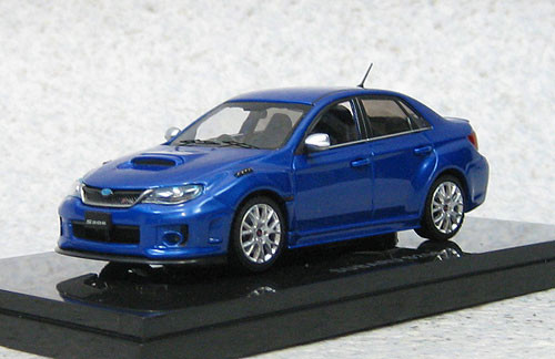 Ebbro 44781 Subaru Impreza WRX STi S206 (WR Blue) 1/43 Scale