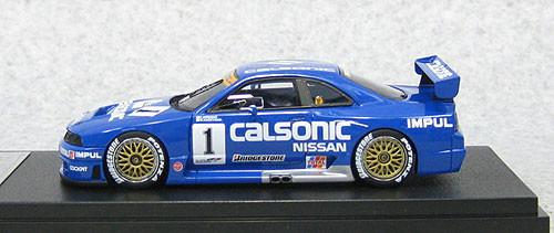 Ebbro 44767 Calsonic Skyline GT-R JGTC 1995 #1 Sugo (Resin Model) 1/43 Scale