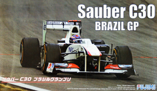 Fujimi GP45 F1 Sauber C30 Brazil GP 2011 with engine 1/20 Scale Kit
