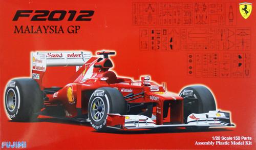 Fujimi GP46 F1 Ferrari F2012 Malaysia GP 1/20 Scale Kit