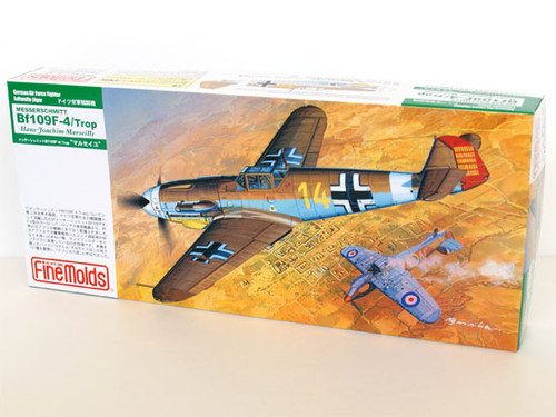 Fine Molds FL5 German Messerschmitt Bf 109 F-4 1/72 Scale Kit