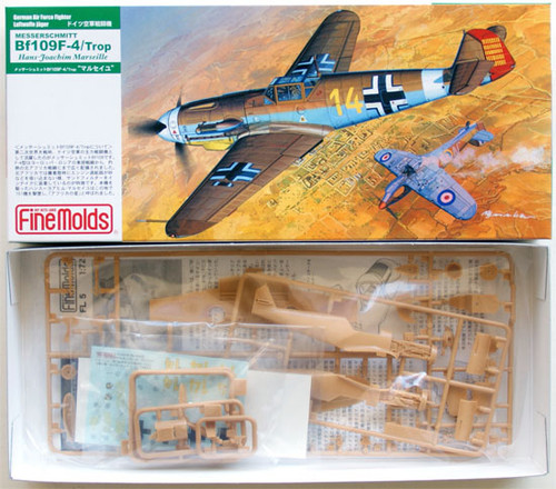 Fine Molds FL5 German Messerschmitt Bf 109 F-4 1/72 Scale Kit