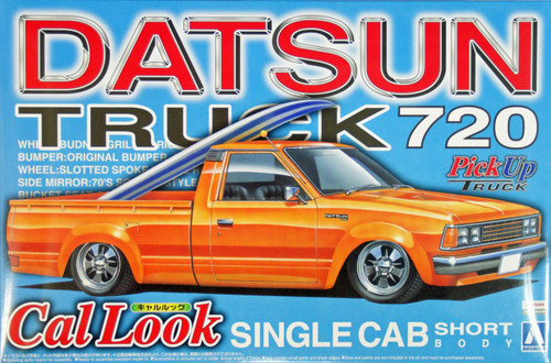 Aoshima 28438 Datsun Truck 720 Cal Look (Pick Up Truck) 1/24 Scale Kit