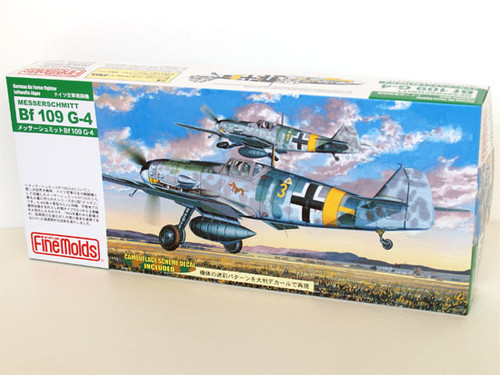 Fine Molds FL7 German Messerschmitt Bf 109 G-4 1/72 Scale Kit