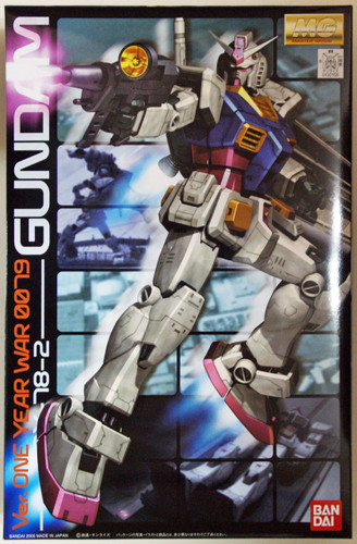 Bandai MG 321558 Gundam RX-78-2 Version One Year War 0079 1/100 Scale Kit