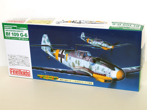 Fine Molds FL8 German Messerschmitt Bf 109 G-4 1/72 Scale Kit