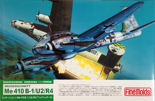 Fine Molds FL9 German Messerschmitt Me 410 B-1/U2/R4 1/72 Scale Kit
