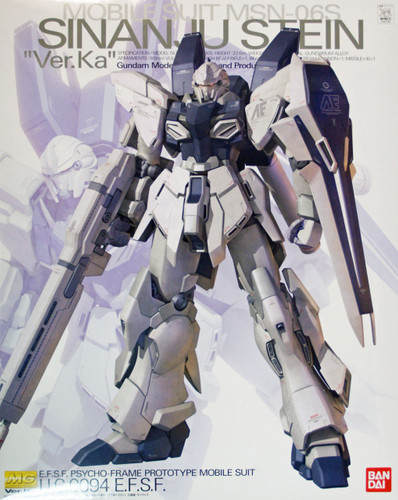 Bandai MG 813374 Gundam MSN-06S Shinanju Stein VersionKa 1/100 Scale Kit