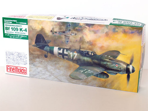 Fine Molds FL12 German Messerschmitt Bf 109 K-4 1/72 Scale Kit