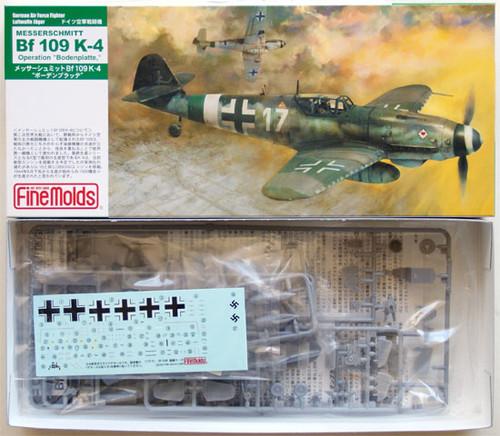 Fine Molds FL12 German Messerschmitt Bf 109 K-4 1/72 Scale Kit