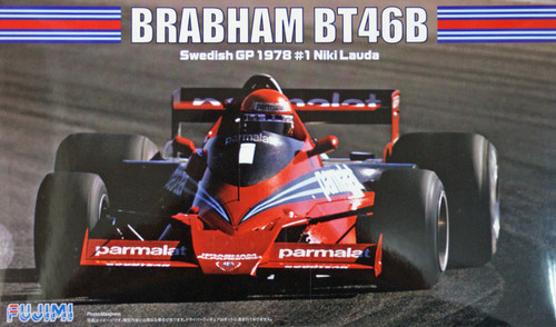 Fujimi GP49 F1 Brabham BT46B Swedish GP 1978 #1 Niki Lauda 1/20 Scale Kit
