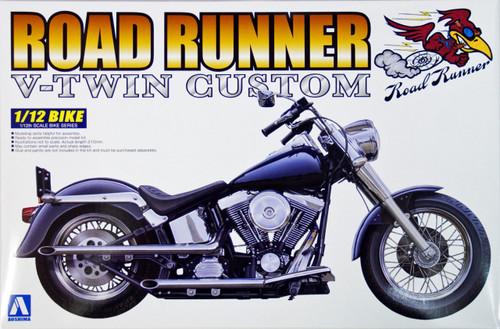 Aoshima Naked Bike 108 Road Runner (V-Twin Custom) 1/12 Scale Kit