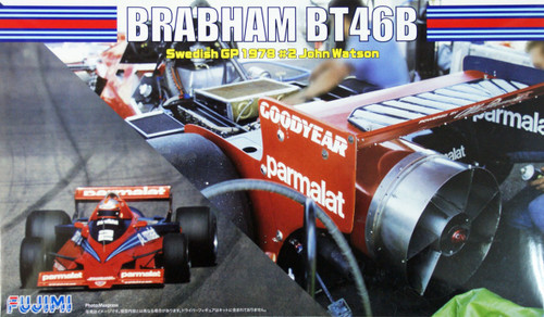 Fujimi GP50 F1 Brabham BT46B Swedish GP 1978 #2 John Watson 1/20 Scale Kit