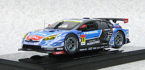 Ebbro 44749 apr Hasepro Toyota Prius Super GT300 No.31 (Resin Model) 1/43 Scale